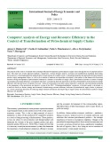 Computer analysis of energy and resource efficiency in the context of transformation of petrochemical supply chains