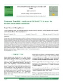 Economic feasibility analysis of off-grid PV systems for remote settlements in Bhutan