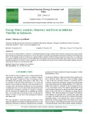 Energy policy analysis, monetary and fiscal on inflation volatility in Indonesia