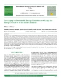 Leveraging on sustainable energy transition to change the energy narrative of the dark continent