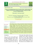 A study on the relationship of socio economic status with knowledge and adoption of post-harvest management practices among the mango growers in Jammu district