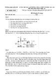 Đề thi học sinh giỏi môn Hóa học lớp 11 cấp trường năm 2020-2021 - Trường THPT Liễn Sơn, Vĩnh Phúc