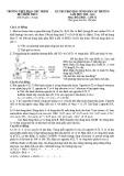 Đề thi học sinh giỏi môn Hóa học lớp 11 cấp trường năm 2020-2021 - Trường THPT Phan Chu Trinh, Phú Yên