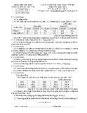 Đề thi học sinh giỏi môn Địa lí lớp 11 cấp tỉnh năm 2020-2021 - Sở GD&ĐT Bắc Ninh