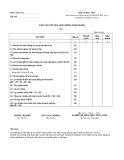 Mẫu Báo cáo kết quả hoạt động kinh doanh (Mẫu số: B02-DNN)
