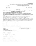 Mẫu Thông báo về việc người nộp thuế hoàn thành nghĩa vụ nộp thuế để nộp hồ sơ giải thể/chấm dứt hoạt động đến cơ quan đăng ký kinh doanh/đăng ký hợp tác xã (Mẫu số: 28/TB-ĐKT)