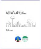 Hướng dẫn kỹ thuật phục hồi rừng tự nhiên