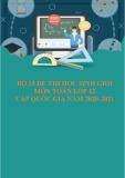Bộ 15 đề thi học sinh giỏi môn Toán lớp 12 cấp quốc gia năm 2020-2021