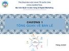 Bài giảng Quản trị bán lẻ: Chương 1 - ĐH Kinh tế Quốc dân