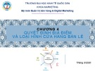 Bài giảng Quản trị bán lẻ: Chương 4 - ĐH Kinh tế Quốc dân