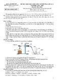 Đề thi học sinh giỏi môn Hóa học lớp 10 cấp trường năm 2019-2020 - Trường THPT Ngô Gia Tự, Phú Yên