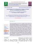 Standardization of in vitro regeneration technique in elephant foot yam (Amorphophallus paeoniifolius L.)