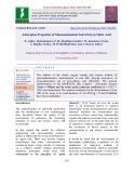 Adsorption properties of monoammonium salt of glycyrrhizic acid