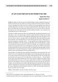 Áp lực và giải pháp bảo vệ môi trường ở Việt Nam