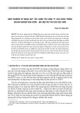 Kinh nghiệm áp dụng quy tắc quản trị công ty của oecd trong doanh nghiệp nhà nước - Bài học rút ra cho Việt Nam