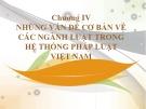Bài giảng Nhà nước và Pháp luật đại cương – Chương 4.2: Những vấn đề cơ bản về các ngành luật trong hệ thống pháp luật Việt Nam (Luật Hình sự Việt Nam)