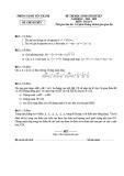 Đề thi học sinh giỏi môn Toán lớp 9 cấp huyện năm 2019-2020 - Sở GD&ĐT Yên Thành