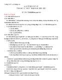 Đề cương ôn tập học kì 2 môn Tin học lớp 12 năm 2020-2021 - Trường THPT Lý Thường Kiệt