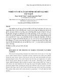 Nghiên cứu đề xuất qui trình chế biến hạt điều tẩm vị quế