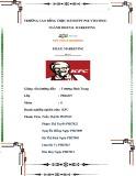 Tiểu luận môn Email marketing: Email marketing tại doanh nghiệp KFC