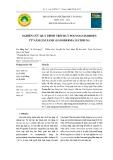 Nghiên cứu quá trình trích ly polysaccharides từ nấm lim xanh (Ganoderma lucidium)