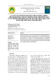 Các yếu tố ảnh hướng đến hoạt động hướng nghiệp theo định hướng chương trình giáo dục phổ thông mới ở các trường Phổ thông dân tộc bán trú Trung học cơ sở huyện Điện Biên Đông, tỉnh Điện Biên