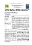Nghiên cứu hiện trạng sử dụng đất và công tác quản lý, đo đạc bản đồ địa chính trên địa bàn tỉnh Thái Nguyên