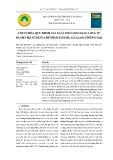 Tối ưu hóa quy trình sản xuất phân bón dạng lỏng từ bã men bia sử dụng chế phẩm enzyme alcalase thương mại