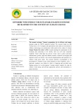Offshore wind energy for sustainable marine economic development in the context of climate change