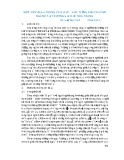 Một số vấn đề trong việc dạy – học tiếng Anh chuyên ngành tại trường Đại học Nha Trang