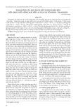 Ảnh hưởng của mật độ và liều lượng phân bón đến năng suất giống ngô nếp lai TG10 tại Yên Định - Thanh Hóa
