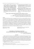 Ảnh hưởng của tưới mặn và bón vôi lên tính chất hóa học đất và năng suất lúa OM5451