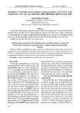 Sắp xếp các truyện ngắn trong sách giáo khoa Ngữ văn 11 (tập 1) đáp ứng yêu cầu dạy học đọc hiểu theo đặc trưng loại thể
