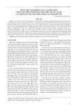 Phân tích ảnh hưởng của các biện pháp thích ứng biến đổi khí hậu đến hiệu quả kỹ thuật của hộ nuôi tôm thẻ chân trắng tại tỉnh Bến Tre
