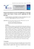 Entropy measurement to extract the signification of abnormal activity from camera's frames and its application for fall detection