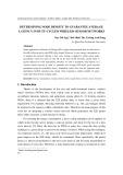 Determining node density to guarantee average latency in duty-cycled wireless sensor networks