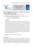 Hazard identification and risk assessment in wastewater treatment plant of Di An city
