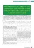 Tổng hợp và ứng dụng vật liệu SBA-15 và composite SBA-15/TiO2 nanotube từ thủy tinh lỏng Việt Nam để loại bỏ Urani(VI) và Thori(IV) khỏi dung dịch