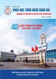 Tạp chí Khoa học công nghệ Hàng hải: Số 66-04/2021