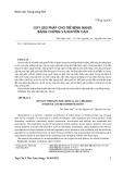 Oxy liệu pháp cho trẻ bệnh nặng: Bằng chứng và khuyến cáo