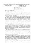 Đề thi học sinh giỏi môn Ngữ văn lớp 9 cấp tỉnh năm 2020-2021 - Sở GD&ĐT Ninh Bình