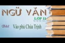 Tổng hợp bài văn mẫu hay về tác phẩm Vào phủ chúa Trịnh của Lê Hữu Trác