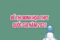 Đề thi minh họa THPT Quốc gia năm 2021