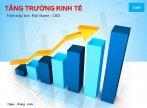 Mẫu slide powerpoint tăng trưởng kinh tế