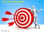 Mẫu slide powerpoint mục tiêu kinh doanh