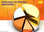 Mẫu slide powerpoint phân khúc thị trường kinh doanh