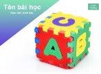 Hình nền powerpoint alphabet