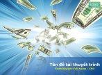 Hình nền powerpoint về tiền tệ