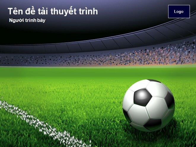 TaiLieu.VN: Hình nền powerpoint bóng đá - download miễn phí