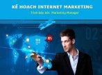Mẫu slide powerpoint Kế hoạch Internet Marketing